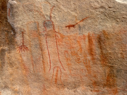 ayers rock pictographs